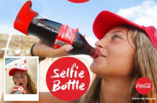 کمپین بازاریابی کوکاکولا با بطری سلفی