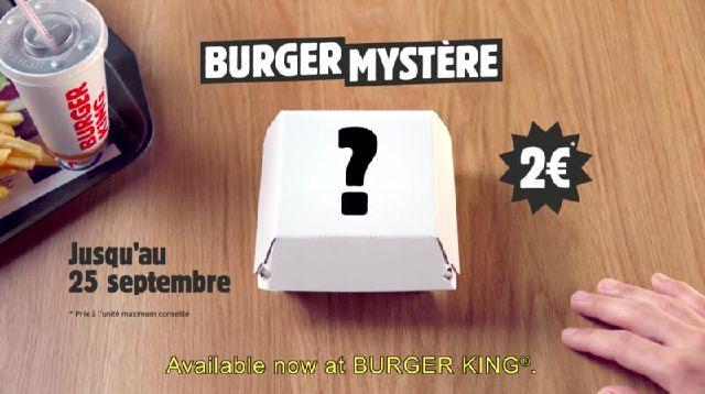 burger king banner