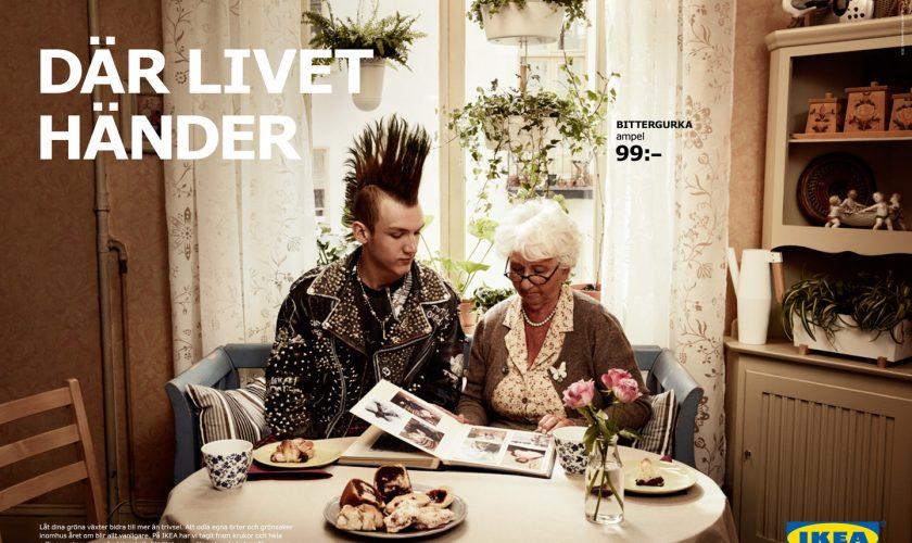 اخلاق در تبلیغات Där Livet Händer
