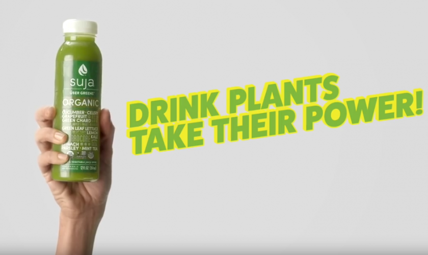 Suja Organic Drink Plants, Take Their Power