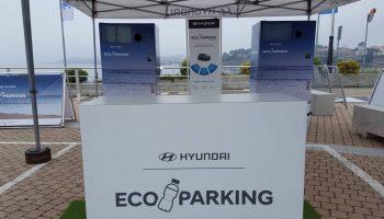 زباله پلاستیکی در پارکومترهای هیوندایی (۱)