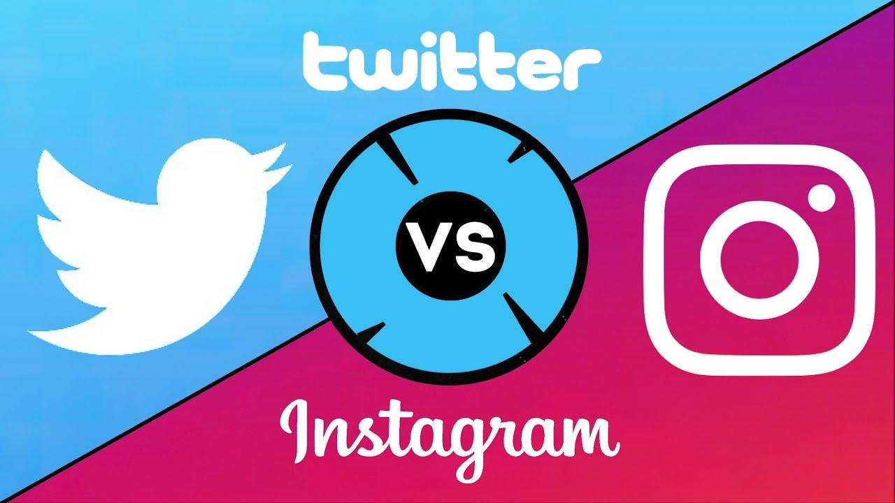 تفاوت اینستاگرام و توییتر