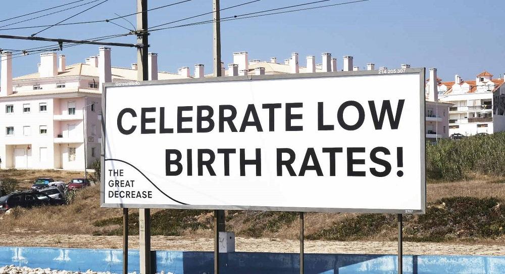 تبلیغات کاهش نرخ تولد