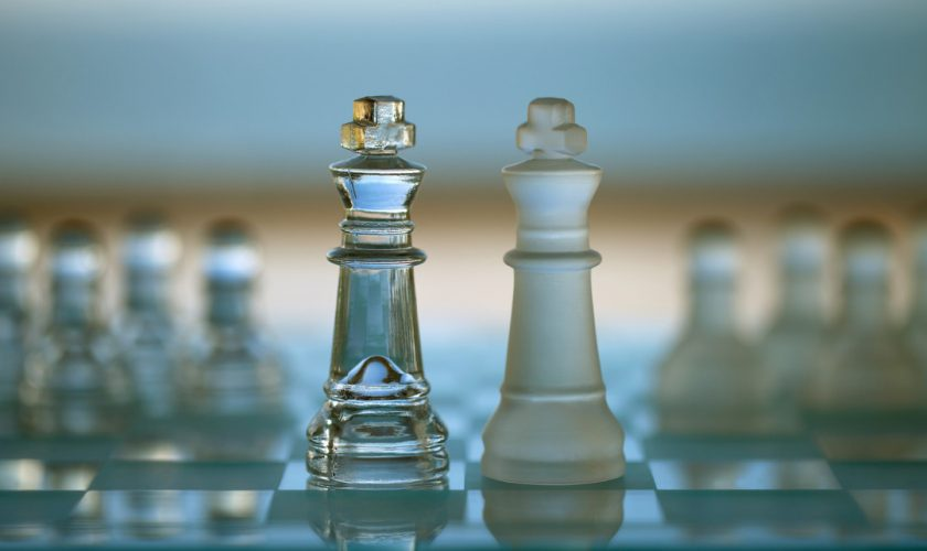 Chess Kings – Business Concept of Merger / Competition / Confron