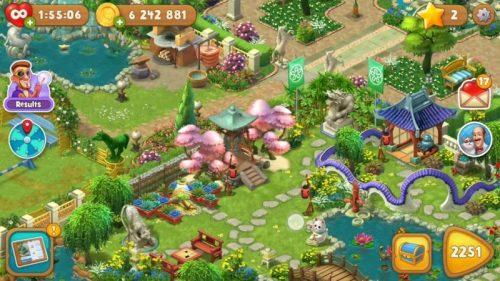 بازی Gardenscapes