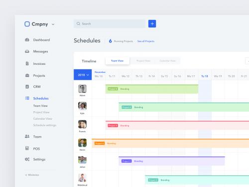 نرم افزار مدیریت پروژه Calendar