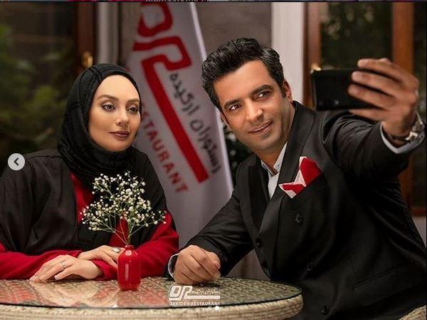 یکتا ناصر و رستوران ارکیده