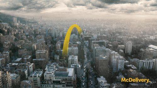 کمپین رستوران مک دونالد 1