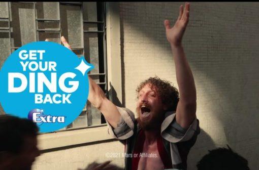 آگهی تبلیغاتی آدامس اکسترا