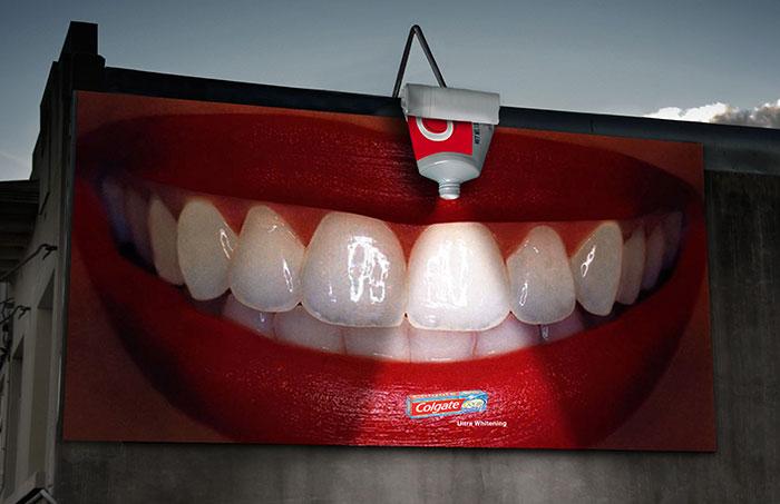 بیلبورد تبلیغاتی خمیر دندان و زیبایی دندان   آیمارکتور