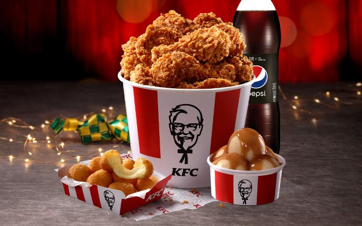 کمپین تبلیغاتی کی اف سی ( KFC ) : بازی کنید و خوراکی جایزه بگیرید