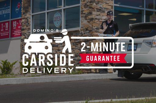 پیتزا دومینو گارانتی میکند: تحویل دو دقیقه ای پیتزا | بزرگترین پیتزا فروشی جهان | آیمارکتور