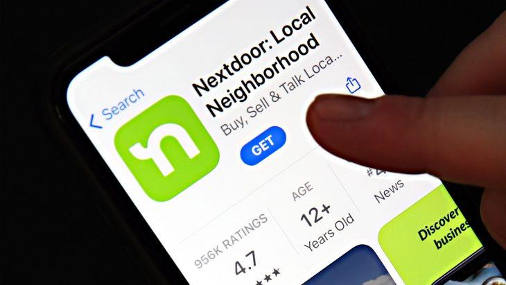 شبکه اجتماعی NextDoor   اپلیکیشن اندروید و آیفون نکست دور   آیمارکتور