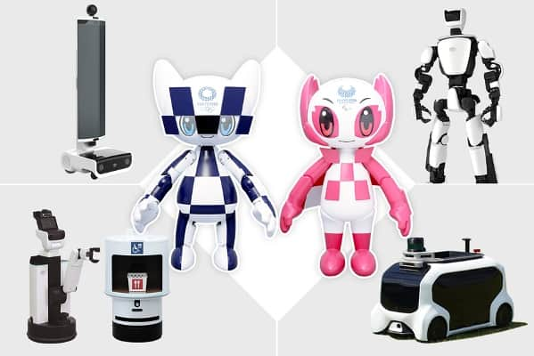 المپیک توکیو 2020 در تصرف ربات ها   آیمارکتور