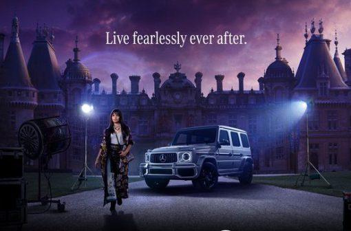 فیلم سیندرلا 2021 و مرسدس بنز | کمپین تبلیغاتی | آیمارکتور