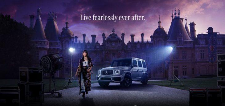 فیلم سیندرلا 2021 و مرسدس بنز   کمپین تبلیغاتی   آیمارکتور
