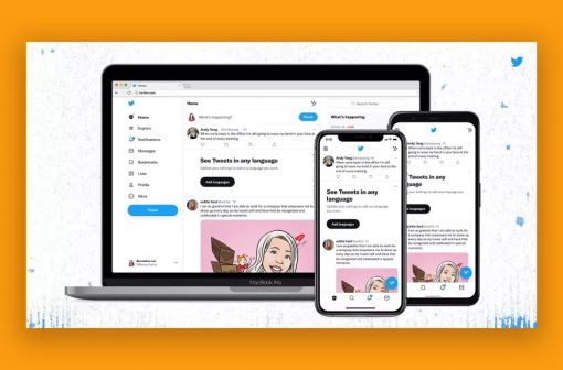 فونت اپلیکیشن توییتر و وب سایت توییتر تغییر کرد | آیمارکتور