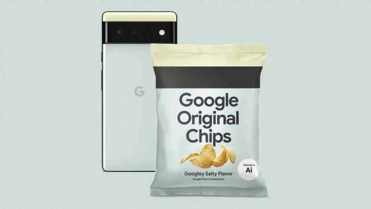 چیپس گوگل
