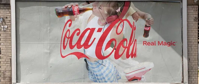لوگو جدید کوکاکولا