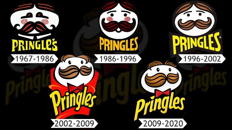 تاریخچه لوگو pringles